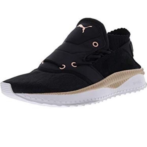 Nwt Tsugi Shinsei Blackgold Sneakers Sz
